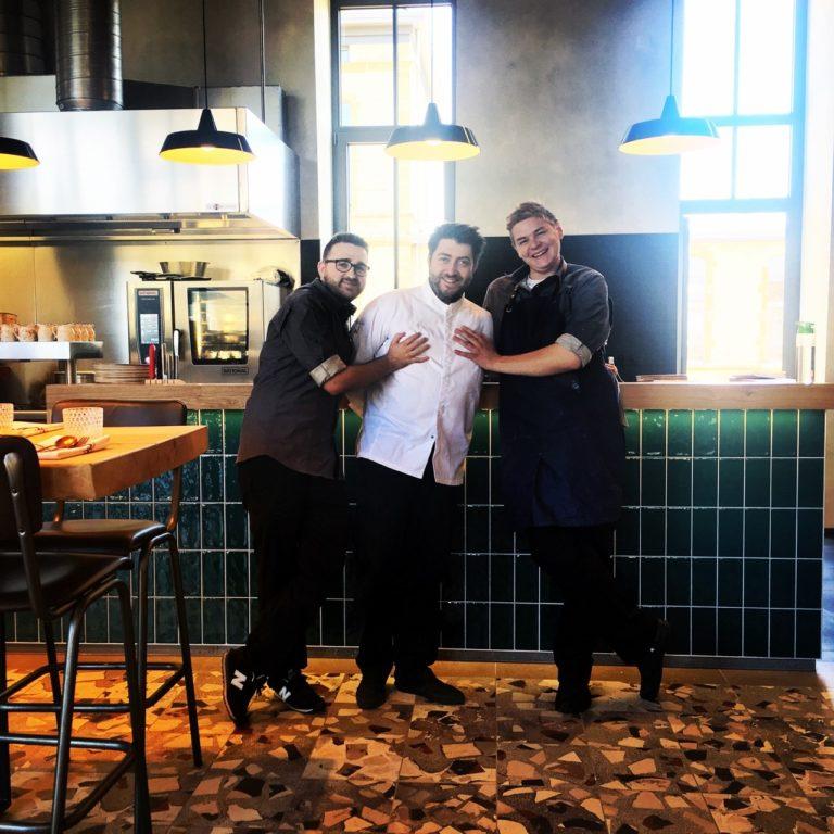 Belgique Restaurant Victor Chefs