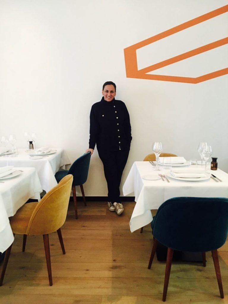 Belgique Chef Isabelle Arpin Portrait