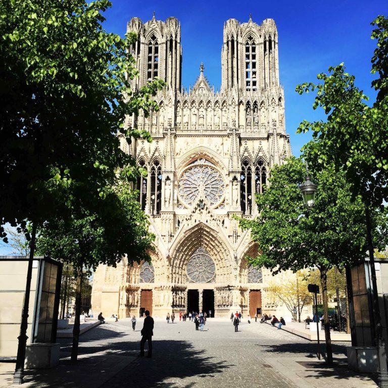 La Cathédrale de Reims en Champagne
