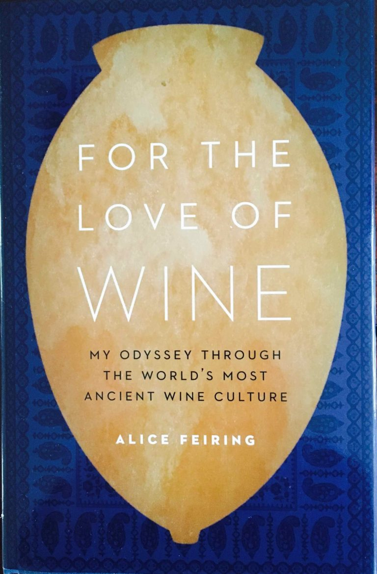 Livre Alice Feiring For The Love Of Wine