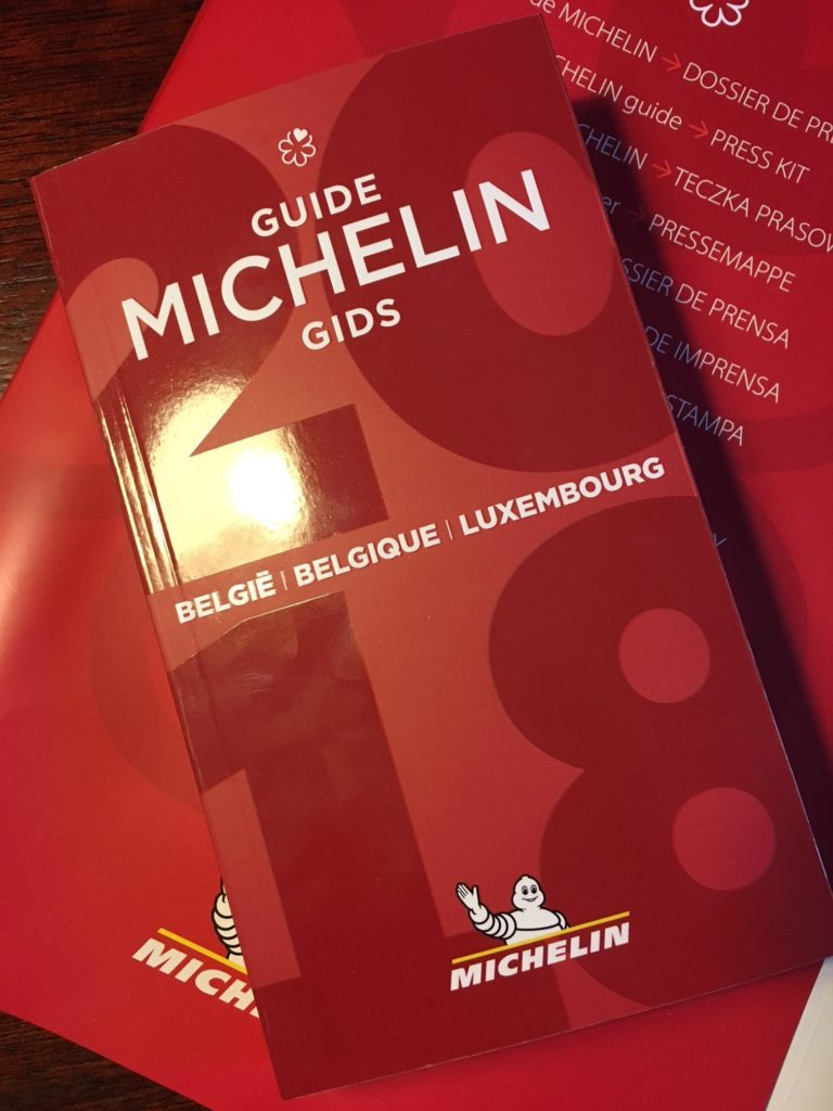 Livre Belgique Cover Michelin 2018