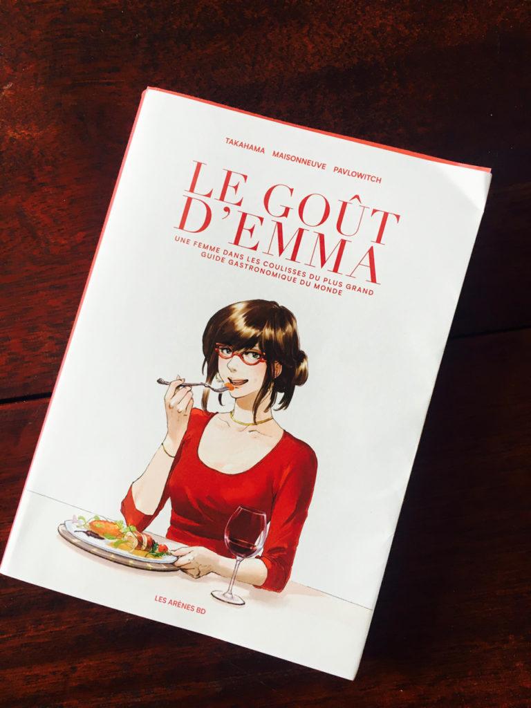 Livre Couverture Le Gout D Emma