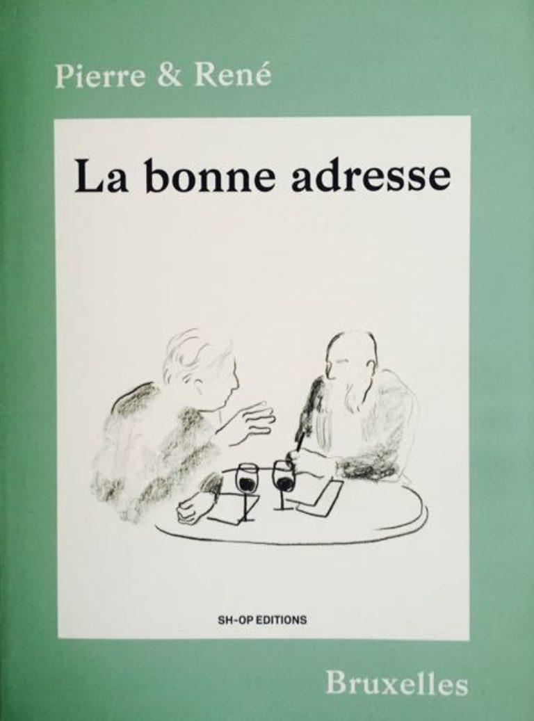 Livre La Bonne Adresse Cover