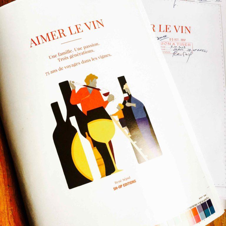 Livre Sh Op Aimer Le Vin La Couverture