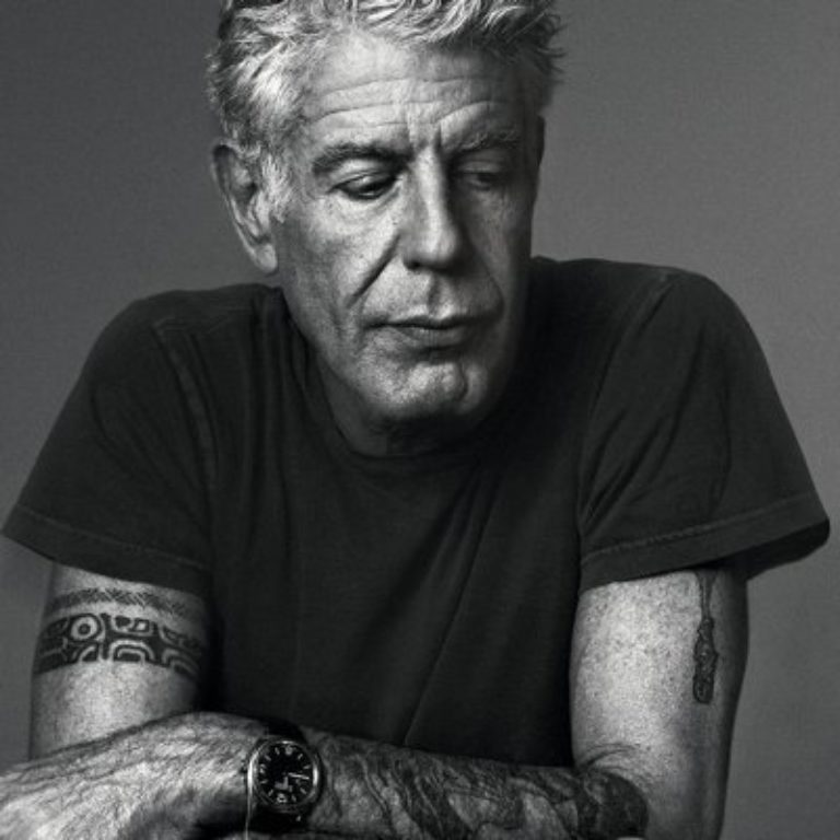 Portrait Anthony Bourdain