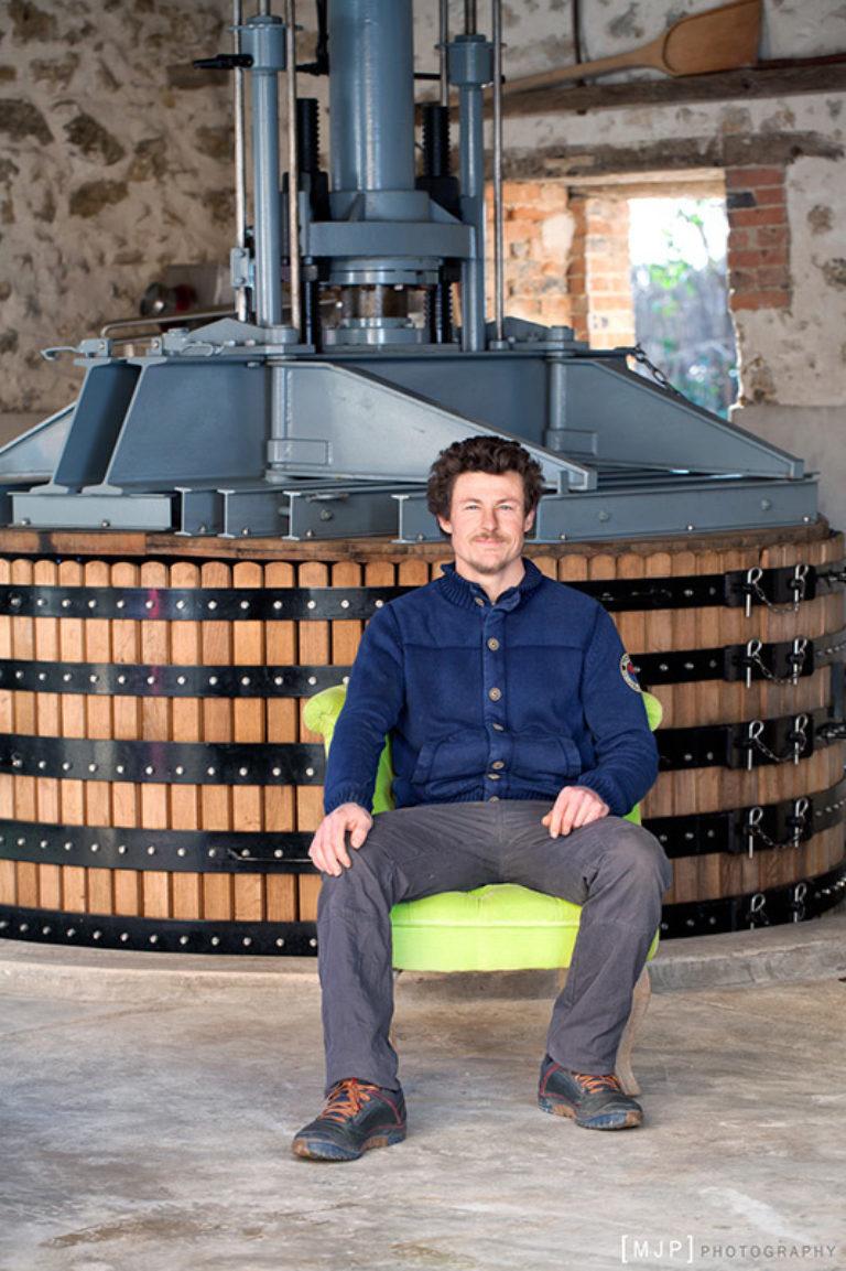 """Portrait Aurélien Lurquin, producteur de Champagne, à """"Des Pieds Des Vins"""""""