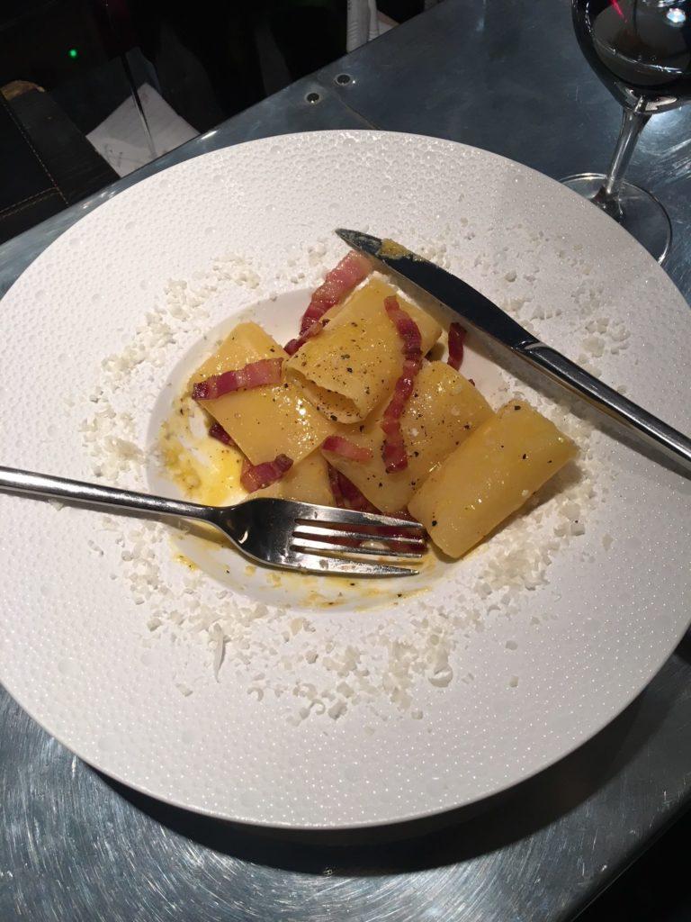 Restaurant Belgique Cul Sec Plat Carbonara