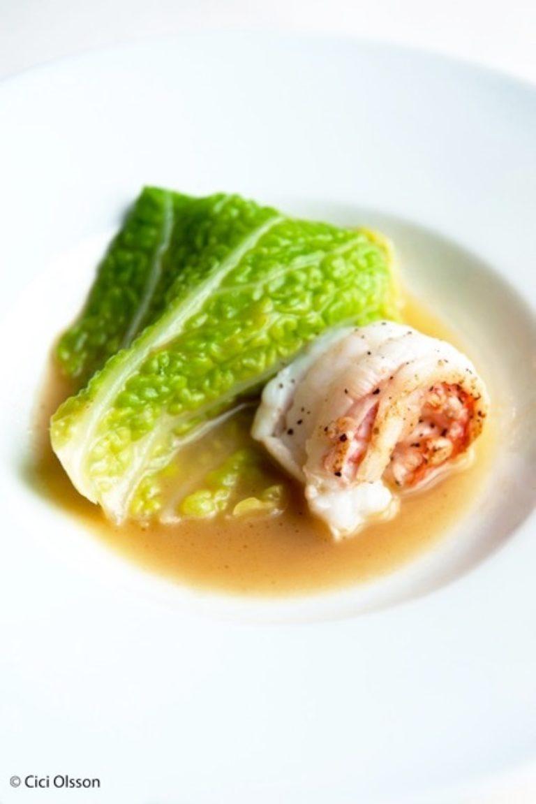 Restaurant Belgique Deugenie A Emilie Plat Langoustine Embeurree Cici Olsson