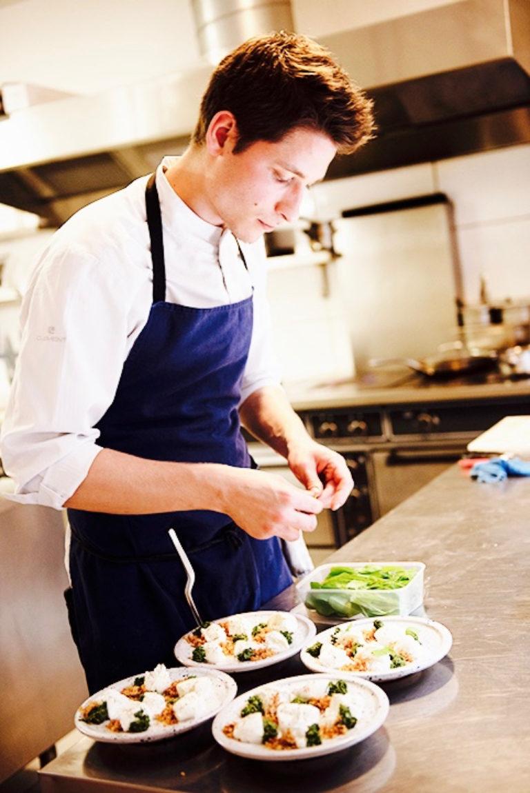 Restaurant Belgique Pepite Chef Portrait
