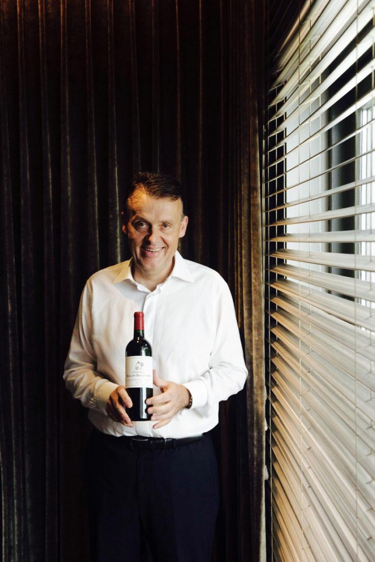 Restaurant Belgique Portrait Sommelier De Muynck