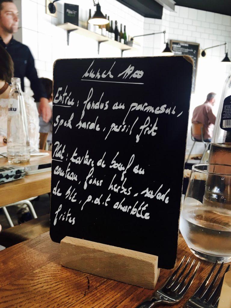Restaurant Belgique Transvaal Interieur