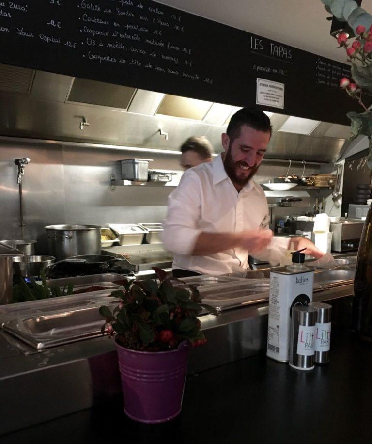 Restaurant Bruxelles Little Paris Chef