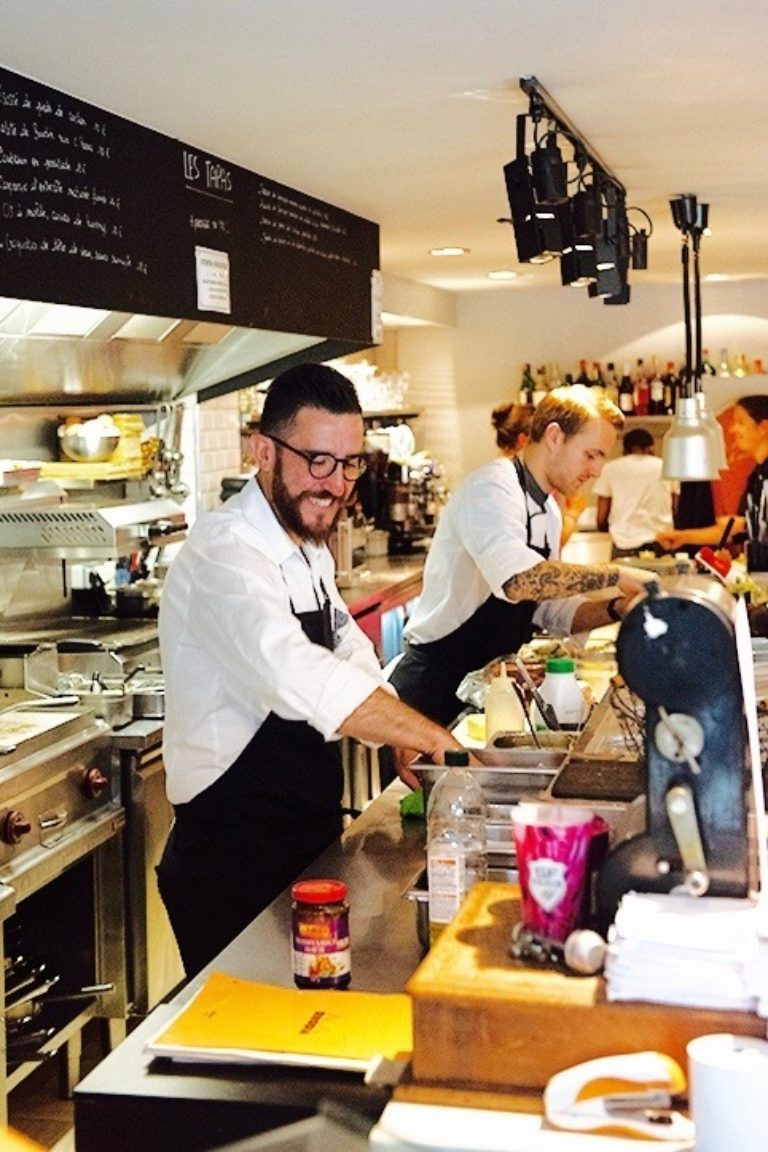 Restaurant Little Paris Chef Cici Olsson
