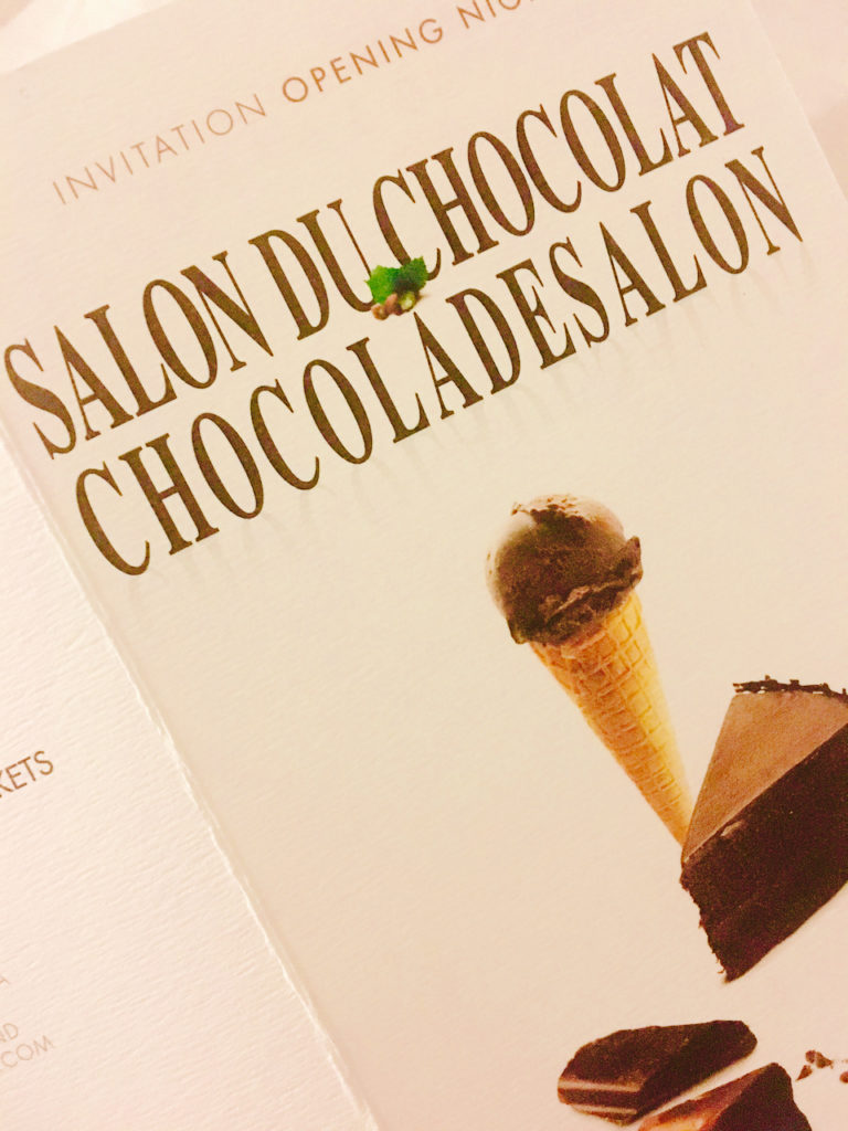Salon Chocolat Invitation
